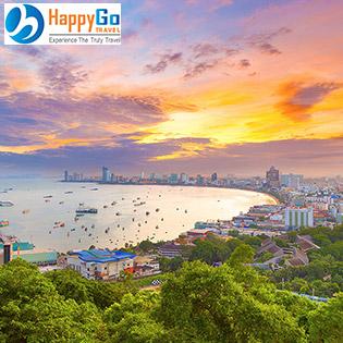 Tour Thái Lan 5N4Đ Hà Nội - Bangkok – Pattaya - Hà Nội – Dành Cho 01 Người
