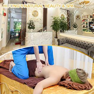 60' Massage Body, Foot, Ngâm Chân, Ấn Huyệt Chỉ Có Tại Hương's Natural Beauty & Spa