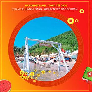 Tour VIP Nha Trang 3N3Đ - Bãi Dài – Du Ngoạn Đảo Robinson – Đảo Bích Đầm - Làng Chài - Lặn Ngắm San Hô – Buffet Hải Sản Thịt Nướng