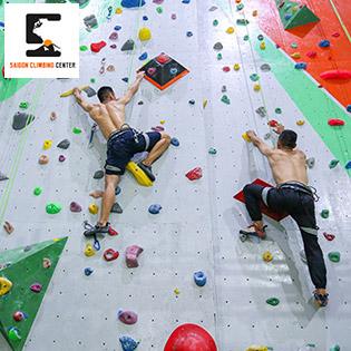 Trải Nghiệm Leo Núi Trong 1h Tại Saigon Climbing Center