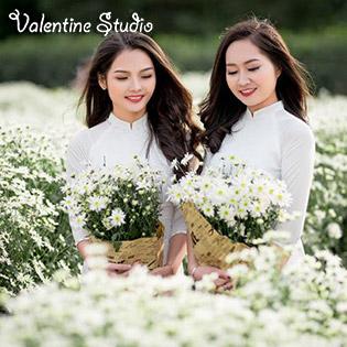 Gói Chụp Ảnh Thời Trang Cùng Hoa Cúc Họa Mi Tại Valentine Studio
