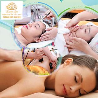 (60p - 90p) Điều Trị Mụn/ Hút Chì/ Massage Body, Bấm Huyệt/ Cấy Nano Tảo Xoắn/ Cấy Nano Histolab Hyaluron Tại Hoàng Spa