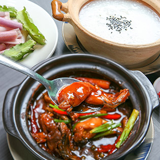 Ấm Bụng Đêm Khuya Cùng Món Ăn Mới Lạ Tại Saigon - Cháo Ếch/Cháo Cá Chép Giòn