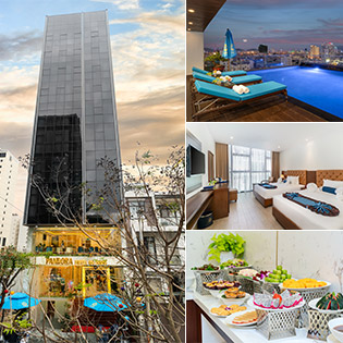 Pandora Boutique Hotel Đà Nẵng 4*- Phòng Deluxe 2N1D + Ăn Sáng Cho 2 Người – Gần Biển Mỹ Khê, Không Phụ Thu Cuối Tuần