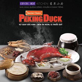 Hệ Thống Crystal Jade Kitchen Toàn Quốc - Vịt Quay Bắc Kinh Trứ Danh Quảng Đông (1/2 Con)