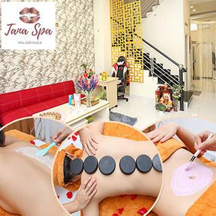 90' Combo Massage Body Đá Nóng/ Ủ Dưỡng Toàn Thân + Tẩy Tế Bào Chết + Đắp Mask/ Massage Bụng Giảm Mỡ, Eo Thon Gọn Chỉ Có Tại Tana Spa