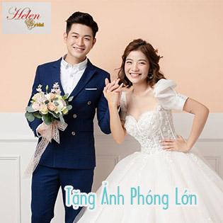 Chụp Ảnh Thử Làm Cô Dâu Chú Rể/ Ảnh Nghệ Thuật Hàn Quốc Siêu Đẹp Siêu Hot – Tặng 1 Ảnh Lớn (20 X 30) Tại Helen's Bridal