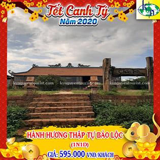 Tour Tết Canh Tý 2020 Hành Hương Vãng Cảnh 10 Chùa Bảo Lộc - Lâm Đồng 1 Ngày 1 Đêm