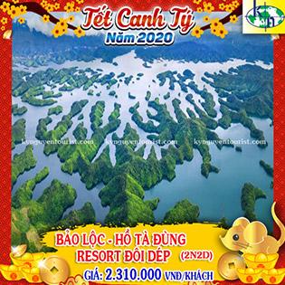 Tour Khám Phá Tà Đùng 2N2Đ - Vịnh Hạ Long Tây Nguyên - Tắm Khoáng Resort Đôi Dép