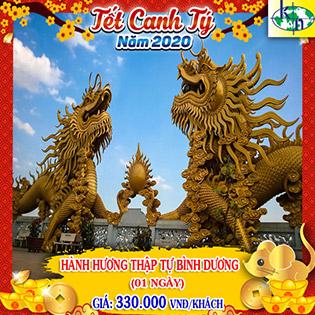 Tour Tết Canh Tý Hành Hương 10 Chùa Bình Dương 1 Ngày