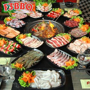 Buffet Lẩu Nướng Không Giới Hạn - Nhà Hàng F3 BBQ