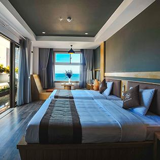 Seasing Hotel 4* Nha Trang 2N1Đ – Phòng Senior Deluxe Seaview + Bao Gồm Ăn Sáng – Có Hồ Bơi – Bãi Biển Riêng