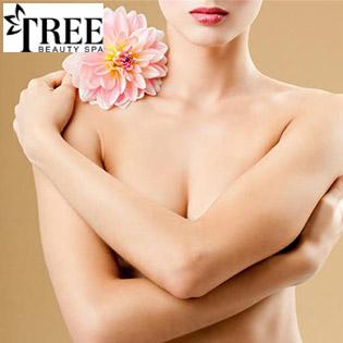 Miễn Tip, Ấn Huyệt - Massage Tăng Kích Cỡ, Săn Chắc Vòng 1 (60') Tại Tree Beauty Spa
