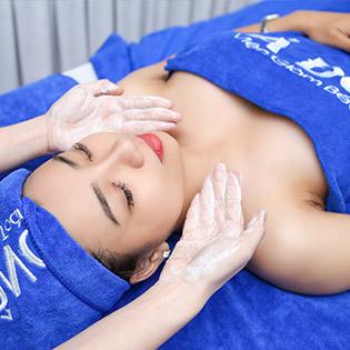 Miễn Tip - (90') Massage Body + Foot + Ngâm Chân/ Điều Trị Mụn, Thâm/ Chăm Sóc Da Mặt Chuyên Sâu/ Tắm Dưỡng - Viện Thẩm Mỹ Á Đông