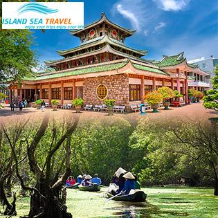 Tour VIP Châu Đốc 2N2Đ - Rừng Tràm Trà Sư - Chợ Nổi Cái Răng - Lưu Trú KS 3*