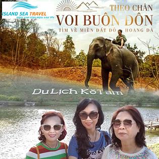 Tour Vip Khám Phá Rừng Núi Tây Nguyên Buôn Mê Thuột 2N2Đ - KDL Kotam - Buôn Đôn - Bảo Tàng Café Thế Giới - Tháp Dray Sap - Dray Nur
