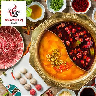 Lẩu Tứ Xuyên 78 Vị 18 Món Tại Nhà Hàng Nguyên Vị -  Bếp Trường Người Hoa