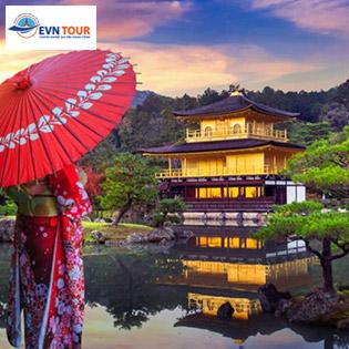 Tour Tết Nhật Bản 5N4Đ - Kobe - Osaka - Kyoto - Kansai - Lưu Trú KS 3*- Vé Máy Bay Khứ Hồi