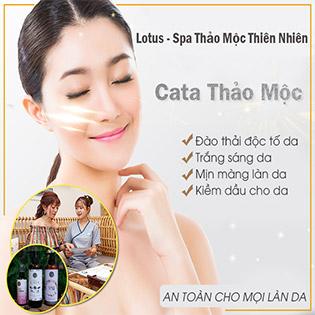 Cấy Tảo Xoắn Nhật Trẻ Hóa Da/ Thải Chì + Massage Nâng Cơ / Gội Đầu Thảo Mộc+ Massage Mặt + Ủ Thảo Dược + Ngâm Chân Tại Lotus Spa