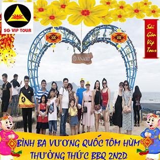 Tour Tết 2020 - 2N2Đ - Bình Ba - Vương Quốc Đảo Tôm Hùm