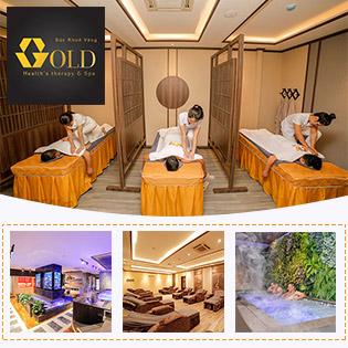 Trọn Gói Buffet Massage Body Gold 10In1, Thức Ăn Nhẹ + Nước Uống Tại Gold Health's Therapy Spa