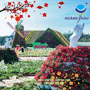 Tour Tết Canh Tý Nha Trang Đà Lạt 4N4Đ - KDL Trăm Trứng - Chùa Long Sơn - Fairytale Land - Đồi Chè Cầu Đất - Thiền Viện Trúc Lâm