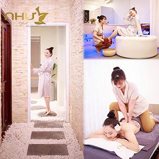 Miễn Tip - Như Spa Top 10 Spa Nổi Tiếng Sài Gòn Về Chăm Sóc Da Mặt, Massage Body Cao Cấp, Hấp Trắng (100 Phút)