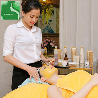 Cấp Ẩm, Trắng Da Cao Cấp White Plus 6D (Chạy Vitamin C + E + AHA) Cho Làn Làn Da Không Tuổi Tại Hệ Thống Spa Việt Hàn