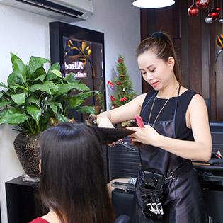 Alice Beauty Salon - Trọn Gói Làm Tóc + Phục Hồi Tóc Cao Cấp - Tặng Hấp Dầu