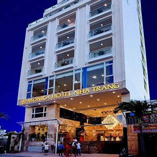 Monica Hotel Nha Trang 4* - 2N1Đ Phòng Senior Deluxe Seaview Dành Cho 02 Khách Và 02 Trẻ Dưới 06 Tuổi. Không Phụ Thu Cuối Tuần