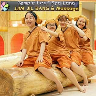 """Sống Ảo Với Trọn Gói """"'Jjim Jil Bang"""" Hàn Quốc All Day + Osen Tại Temple Leaf Spa Land – Đẳng Cấp 5 Sao"""