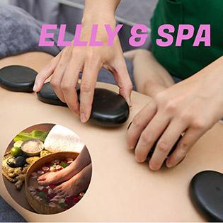 Miễn Tip - Buffet Spa Tự Chọn - 90 Phút Ngâm Chân Thảo Dược + Massage Body Đá Nóng/ Massage Mặt Thư Giãn/ Phun Xăm Mày/ Môi Tại Elly & Spa