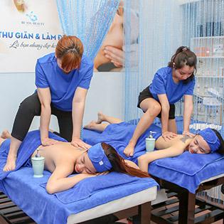 Miễn Tip 90 Phút Ấn Huyệt, Massage Body, Foot/ Sạch Mụn, Trắng Mịn Da, Se Khít Lỗ Chân Lông Cao Cấp Tại Be You Spa