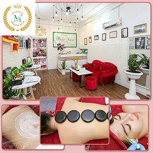 10 Lần Triệt Lông Vĩnh Viễn/ Massage Body + Foot/ Cấy Tảo Xoắn Vitamin C/ Cấy HA/ Hồng Sâm/ Lăn Kim Vi Siêu Điểm Tại Viện Thẩm Mỹ Mộc Tiên