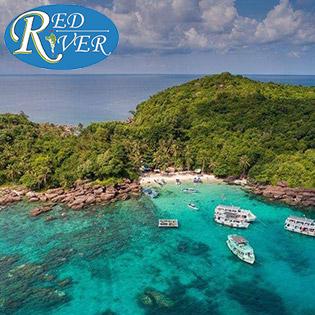 Tour Phú Quốc 1 Ngày RED 3 - Khám Phá 3 Đảo Hòn Móng Tay - Gầm Ghì – Mây Rút - Khởi Hành Hàng Ngày. Không Phụ Thu Cuối Tuần