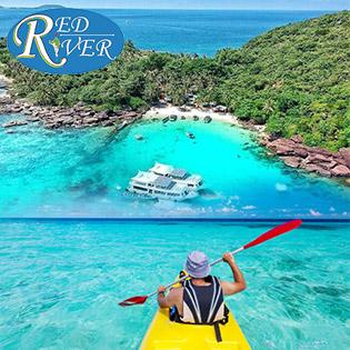 Tour Chèo Thuyền Kayak Trên Sông Cửa Cạn Phú Quốc - Tham Quan Vườn Tiêu - Nhà Thùng Nước Mắm - Khởi Hành Hàng Ngày. Không  Phụ Thu Cuối Tuần