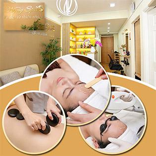 (100') Bấm Huyệt Shiatsu Nhật + Massage Body Thụy Điển/ + Foot + Tinh Dầu + Đá Nóng + Ngâm Chân Thuốc Bắc Tại NyNy Spa