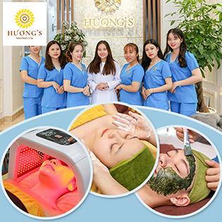 60' Massage Mặt, Tẩy Da Chết/ Hút Chì, Thải Độc Chỉ Có Tại Hương's Natural Beauty & Spa