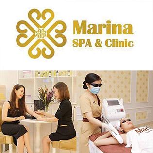 Marina Spa Clinic 5* - 12 Lần Triệt Lông Vĩnh Viễn Xóa Mờ Thâm Cho Vùng Nách Siêu Nhanh, Siêu Hiệu Quả - Đặc Biệt Máy Công Nghệ Mới 100%