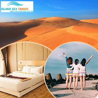 Tour VIP Mũi Né Phan Thiết 2N1Đ – Lâu Đài Rượu Vang RD - Tham Quan - Dã Ngoại - Thưởng Thức Hải Sản - Nghỉ Dưỡng Khu Phức Hợp 5* Resort Cao Cấp Sealinks City - Ocean Vista