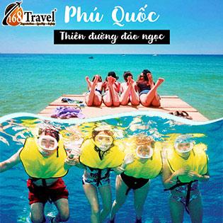 Tour Phú Quốc Kích Cầu Du Lịch 3N2Đ - Câu Cá - Lặn Ngắm San Hô - Khám Phá Vẻ Đẹp Đảo Ngọc - Câu Mực Đêm - Trọn Gói Vé Máy Bay Khứ Hồi