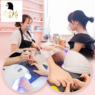 Móng Đẹp Combo Sơn Gel, Sửa Móng Không Phát Sinh Chi Phí Tại Mị Beauty Central