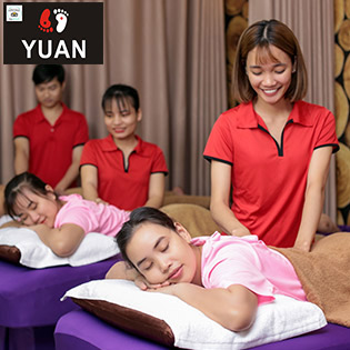 VIP - Yuan Spa Top Ấn Huyệt Shiatsu Massage Body, Foot Đá Nóng Nhật Bản Trên 10 Kinh Nghiệm - Nổi Tiếng Số 1 Sài Gòn