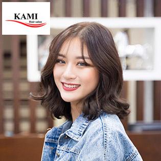 Trọn Gói Làm Tóc Chuẩn Shophia Tặng Bọc Keratin Mềm Mượt Tại Kami Hair Salon