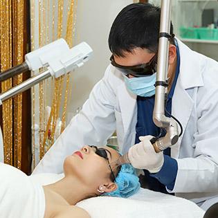 Công Nghệ Laser Toning Điều Trị Nám Tận Gốc An Toàn Hiệu Quả Toàn Diện Độc Quyền Tại Dr Huy Beauty Clinic