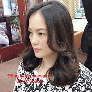 Đông Đông Hair Salon - Combo Cắt - Gội - Uốn Hoặc Cắt - Gội - Nhuộm Đẳng Cấp Chuyên Nghiệp Với Wella- Silecktiss Sản Xuất Tại Đức Và Ý