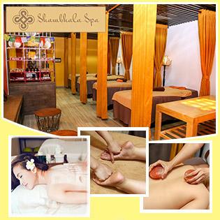 Massage Body Himalaya+Nằm Giường Đá Muối/ Massage Chân Đá Muối Hồng+Ngâm Chân+Tẩy TBC/ Trắng Mịn Mặt Bằng Lá Chùm Ngây Tại Shambhala Spa - Top 10 Spa Nổi Tiếng Sài Gòn Về Massage Body, Foot