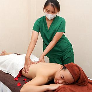 Miễn Tip - (100') Massage Body + Foot + Ngâm Chân + Chăm Sóc Da Mặt + Đắp Mặt Nạ - Hân Hân Spa