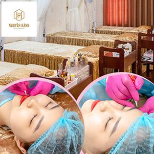 Phun Mày Tán Bột/ Phun Môi Tại Nguyễn Hằng Beauty & Spa