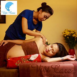 [Miễn Tip] Giảm Béo/ 90 Phút Massage Bầu Hoặc Massage Body + Foot + Ấn Huyệt + Ngâm Chân + Đắp Thảo Dược Trị Nhức Mỏi + Chăm Sóc Da Mặt Tại Việt Care Spa - Spa Nổi Tiếng Về Chăm Sóc Mẹ Bầu Và Sau Sinh